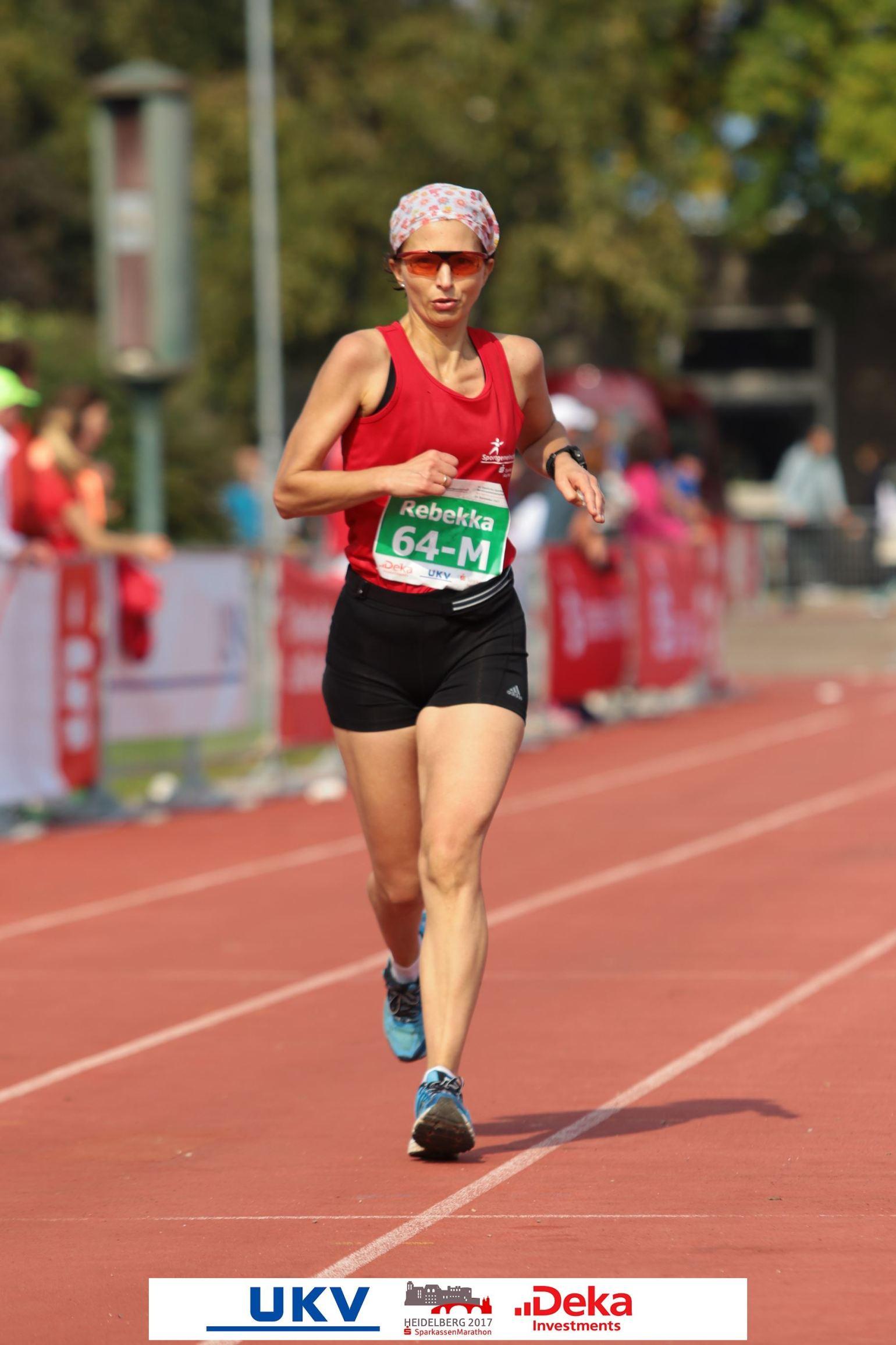 2017 Rebekka Braun, Heidelberg Marathon